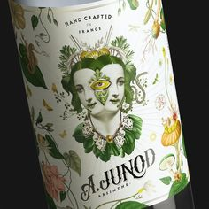 This New Absinthe Has a Stunning Collage-Inspired Label