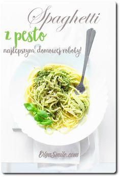 Spaghetti z pesto