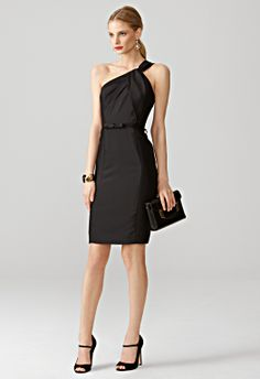 Milly NY  CHLOE ASYMMETRICAL DRESS