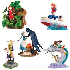 Studio Ghibli Diorama Collection Volume 2 Statue Set - Chaoer - Studio Ghibli - Statues at Entertainment Earth