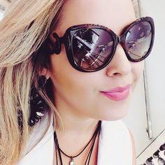 #Repost @daianegbi with @repostapp. ・・・ Não disse que essa haste é uma arte???? Óculos lindo.. Roberto Cavalli   #oticaswanny #robertocavlli #aregradojogo #bebinha @oticaswanny
