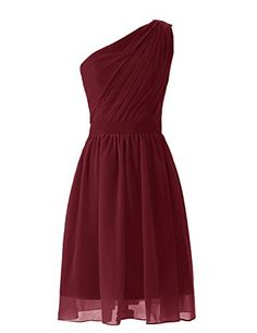Dresstells Short One-shoulder Mint Bridesmaid Dress Party Dresses for Women Size 12 Burgundy Dresstells http://www.amazon.com/dp/B00L291YSA/ref=cm_sw_r_pi_dp_lKf-vb0P85T24