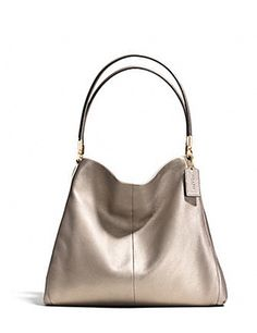 Coach Pebble Leather Phoebe Shoulder Bag