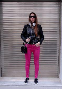 #riverisland #jeans #zara #leatherjacket #sony #headphones #zara #bag