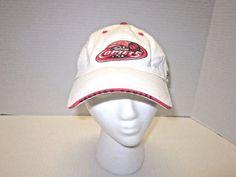 GUC! Reebok Houston Comets WNBA Women's Basketball White Cap Hat Adjustable #Reebok