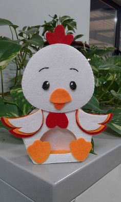 Easy Paper Crafts, Foam Crafts, Diy And Crafts, Arts And Crafts, Class Decoration, School Decorations, Easter Crafts For Kids, Preschool Crafts, Chicken Crafts