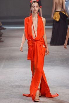 Haider Ackermann Spring 2011 Ready-to-Wear Fashion Show - Alana Zimmer (Elite)