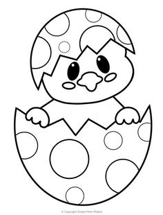 Free Printable Easter Egg Chick Coloring Pages - Simple .-Kostenlose druckbare Easter Egg Chick Malvorlagen – einfache Mutter Projekt – … Free Printable Easter Egg Chick Coloring Pages – Simple Mother Project – Printable Crafts and Activities – - Easter Crafts For Toddlers, Easter Activities, Toddler Crafts, Easter Crafts Kids, Easter Ideas For Kids, Sunday Activities, Bunny Crafts, Free Activities, Easter Egg Coloring Pages
