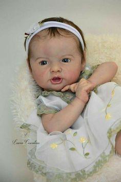 Ooak Dolls, Reborn Dolls, Reborn Babies, Silicone Baby Dolls, Newborn Baby Dolls, Laura Lee, Cute Dolls, Doll Face, Cute Babies