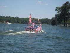 Lake Murray Fourth of July Boat Parade this year's event will be June 28, 2014