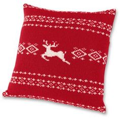 love the idea of using Christmas sweaters and turning them into pillows.