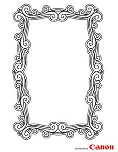 See 4 Best Images of Free Printable Frames. Free Printable Frame Templates Free Wedding Invitation Borders and Frames Free Wedding Invitation Borders Clip Art Free Printable Scrapbook Frames Printable Frames, Printable Pictures, Free Printable Coloring Pages, Free Printables, Colouring Pages, Coloring Books, Picture Frame Template, Kids Activity Center, Clip Art