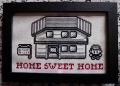 Gotta stitch 'em all. | 19 Delightfully Geeky Cross Stitches You Wish You Owned