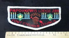 OA Lodge 289 Papoukewis S3 Flap Merged 1993  Fort Steuben Area Council R7T3