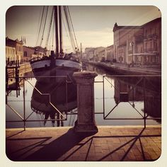 Porto Canale di Cesenatico - Instagram by @filippovicini