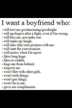 what a boyfriend should do for his girlfriend
