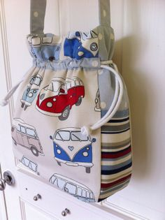Love Linz 100 cotton 'Campervan' bag. by LoveLinzHandmade on Etsy, £30.00