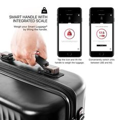 Smart Luggage® Carry-on - Airline Approved America Online, Electronic Parts, Vacation Packing, Carry On, 21st, Bag, Hand Luggage, Bags