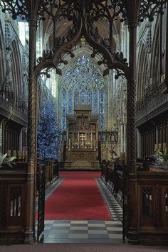 The Quire, Selby Abbey by Colin'sPic's, via Flickr