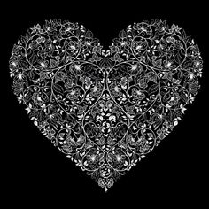 Lace heart...cute tattoo idea