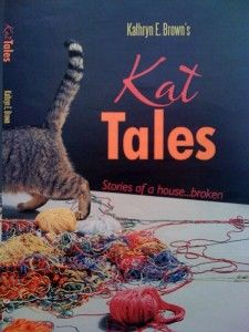"""Mommyhood blogger Katy Brown wrote """"Kat Tales: Stories of a house...broken."""" The book debuts locally on May 5."""
