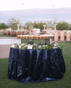 Mirror Wedding Ideas | blog.theknot.com Summer Wedding, Dream Wedding, Wedding Day, Glamorous Wedding, Wedding Vows, Luxury Wedding, Elegant Wedding, Wedding Flowers, Nautical Wedding