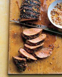 Chili-Rubbed Pork Tenderloin Recipe