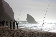 Adraga: pesca