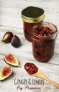 By adding fresh ginger and lemon, you'll find these fig preserves are a little brighter in flavor and sweet with a nice amount of heat. Farm Fresh To You recipes.