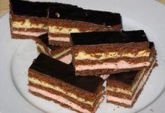 Lajcsi szelet Tailgate Desserts, Tiramisu, Biscuits, Cookie Recipes, Cookies, Cake, Ethnic Recipes, Food, Diy