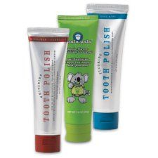 Melaleuca Whitening Tooth Polishes make teeth whiter and mouths cleaner. Only Melaleuca Tooth Polishes combine five natural ingredients that work together to battle oral bacteria, freshen breath, protect teeth, and whiten smiles with naturally derived ingredients. That's something no other toothpaste offers.