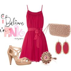 Pink, created by luckyslady.polyvore.com