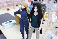 Smart Doll Kizuna Yumeno and Eiji Seiun by ota_kuga