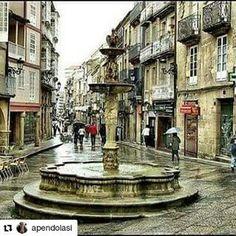 #Repost @apendolasi Centro histôrico #Galicia es maxia#España #compostela