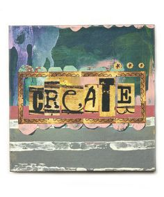 Loving this 'Create' Canvas on #zulily! #zulilyfinds