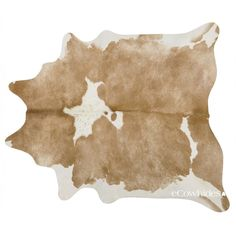 Palomino and White Brazilian Cowhide Rug Cow Hide Rugs Xl ($305) ❤ liked on Polyvore featuring home, rugs, floor & rugs, home & living, silver, animal rugs, cow leather rug, white area rug, cow hide rug and white rug