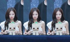 JENNIE 190630 blackpink photobook limited edition fansign South Korean Girls, Korean Girl Groups, South Korea News, Jennie Blackpink, Yg Entertainment, Photo Book, Rose, Mermaid, Kpop