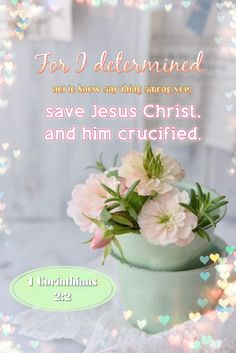 1 Corinthians 2:2 KJV