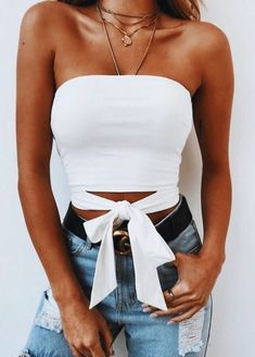 36 Cute Outfit Ideas for Summer – Summer Outfit Inspiration - Style O Check - Outfits Inspirations - Modetrends Spring Outfits, Trendy Outfits, Fashion Outfits, Womens Fashion, Denim Fashion, Outfit Summer, Fashion Fall, 90s Fashion, Fashion Trends