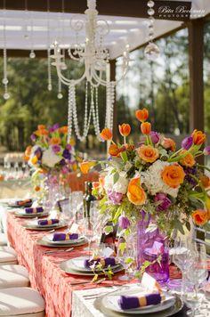 17 best Purple Burgundy Orange Weddings images on Pinterest ...