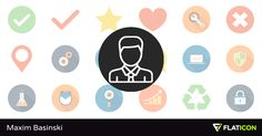 Free vector icons designed by Maxim Basinski
