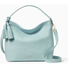 Kate Spade Orchard Street Small Natalya ($348) ❤ liked on Polyvore featuring bags, handbags, satchels, kate spade bags, kate spade satchel, satchel bag, green bag and slouchy purses