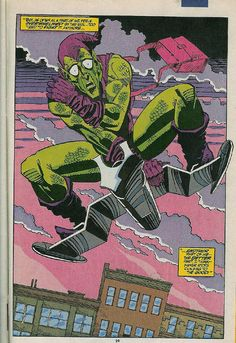Green Goblin by Sal Buscema