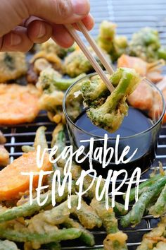 Vegetable Tempura - Recipe on Shutterbean.com!