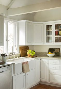 Cape Cod Renovation - beach-style - Kitchen - Boston - kelly mcguill home