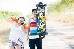 Roy & Jai ~ Joemar Cabasan Photography - Gensan Wedding Photographer | Philippine Wedding Photographer | Destination Photographer Skateboard, Engagement, Photography, Wedding, Skateboarding, Valentines Day Weddings, Photograph, Skate Board, Fotografie