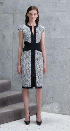 Scanlan Theodore Rhombas Scuba Print Dress