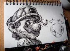 Fantastic Pencil Sketch Art By Pez