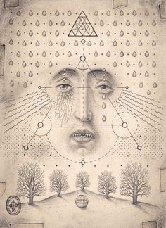Drawings by Daniel Martin Diaz