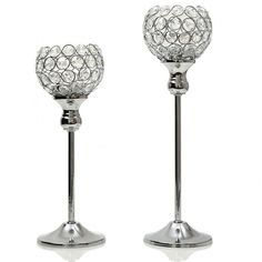 VINCIGANT Sparklers Wedding Table Centerpieces Candelabra,Decorative Floor Vases Crystal Candle Holders for Dining Room Decoration,Set of 2 Modern Candles, Modern Candle Holders, Pillar Candle Holders, Candle Holder Set, Candle Lanterns, Tea Light Holder, Led Candles, Hurricane Candle, Candlestick Holders